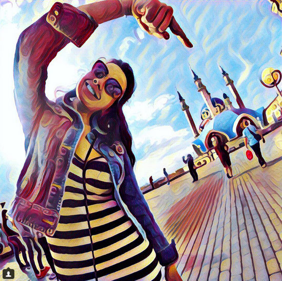 In Prisma for iOS now features offline photo processing