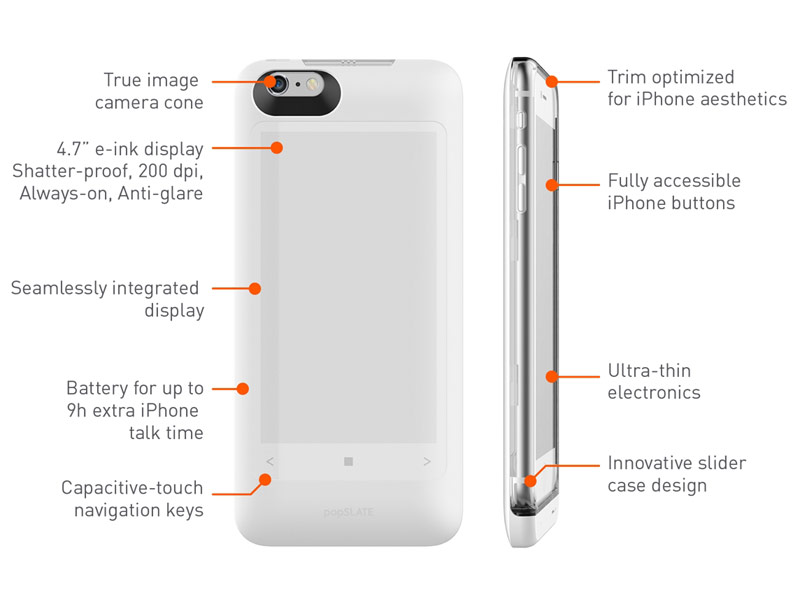 The Popslate cover 2 turns your iPhone into a YotaPhone 2 [video]
