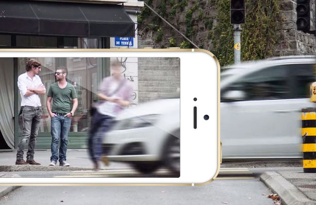 In the traffic police decided to fine motorists on the basis of taken on a smartphone commercials