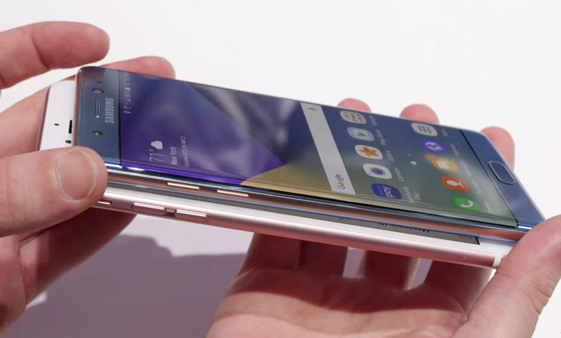 Samsung Galaxy Note 7 vs iPhone 6 Plus: design, specifications, prices