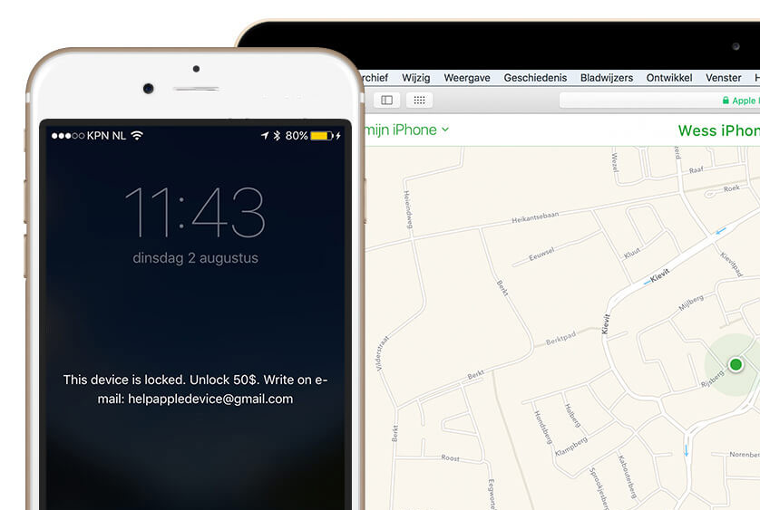 Hackers have found an original way to extort money from iPhone and iPad users