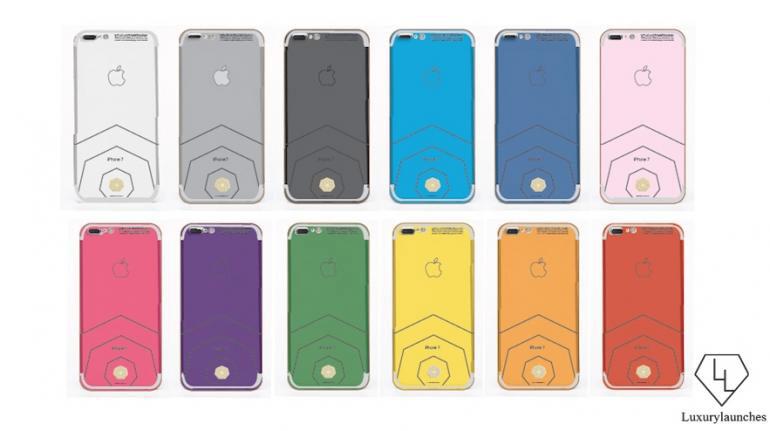 Open pre-order the iPhone 7 diamond worth $1.3 million