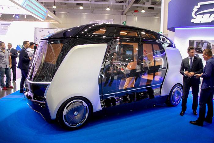 """KamAZ"" announced the launch of Russia's unmanned buses that are managed using a mobile app"