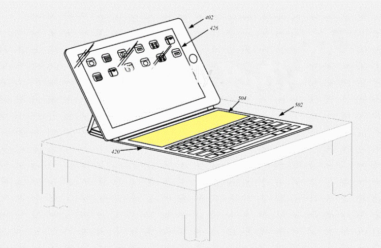 Keyboard Smart Keyboard for Apple iPad Pro will have a touch screen