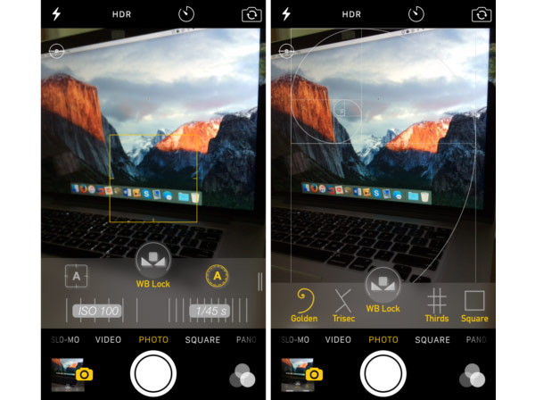 CameraTweak 4: 10 новых функций для камеры в iOS 9 [Cydia]