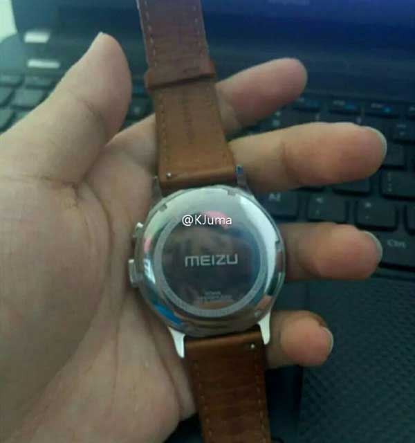 Published the first picture of the smart watch Meizu