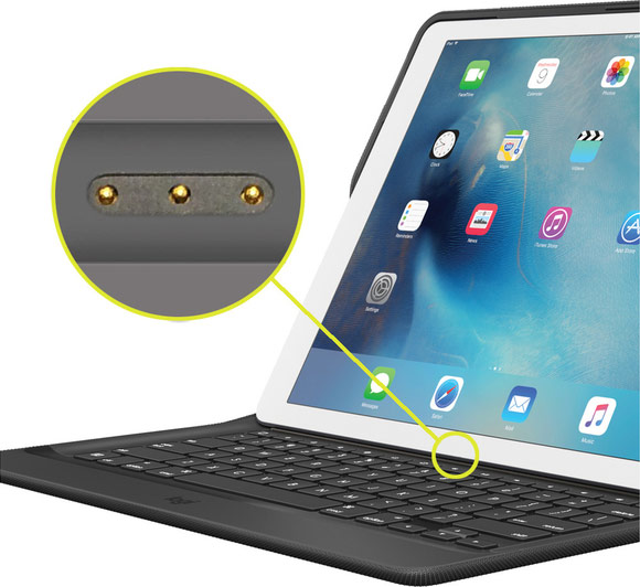 Logitech has released a cover-backlit keyboard for 9.7 inch iPad Pro