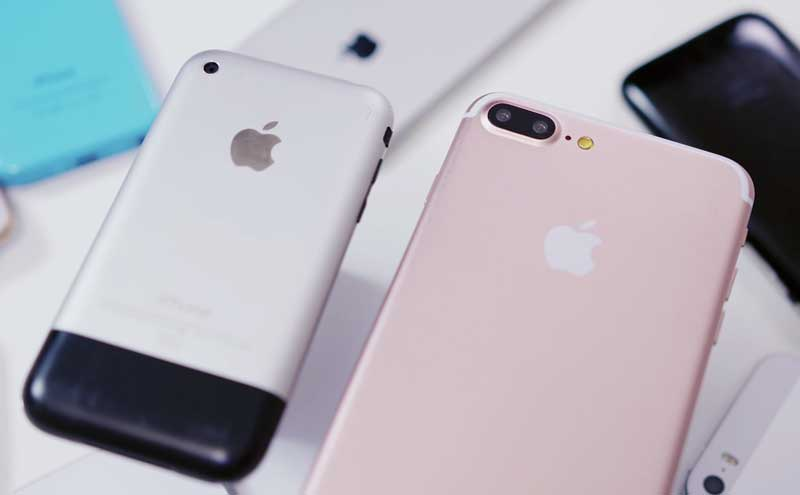 Video of the day: 5.5-inch iPhone 7 Plus compared with all previous iPhone generations