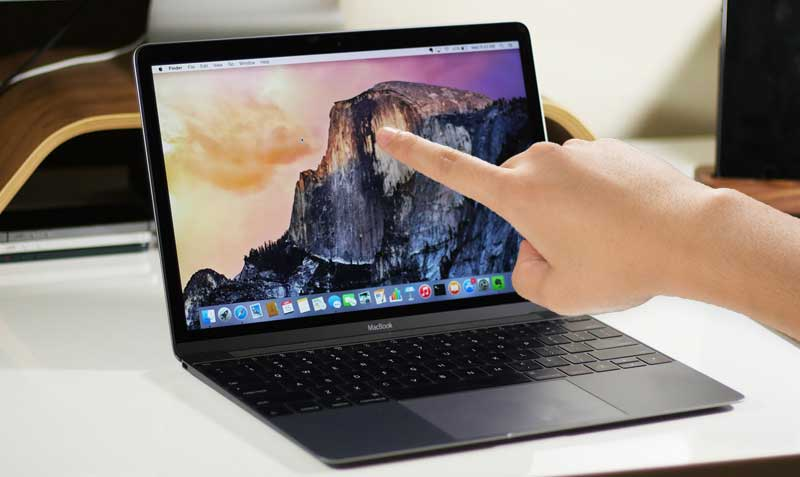 Enthusiast have proven that a MacBook with a touch screen has the right to life [video]