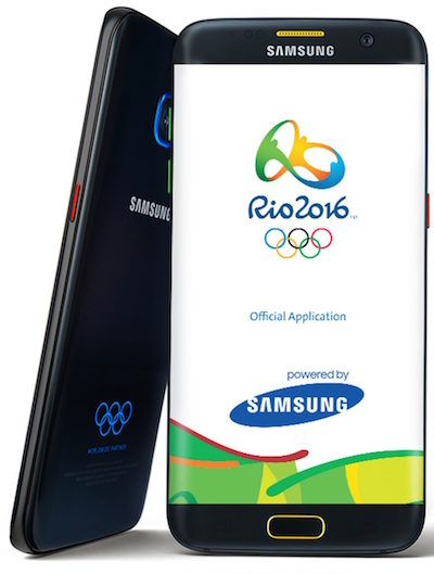 Athletes from North Korea abandoned the free smartphone Samsung Galaxy S7 Edge at the Olympics in Rio
