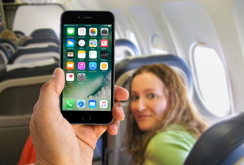 "Airline ""Russia"" allowed to use smartphones during takeoff and landing"