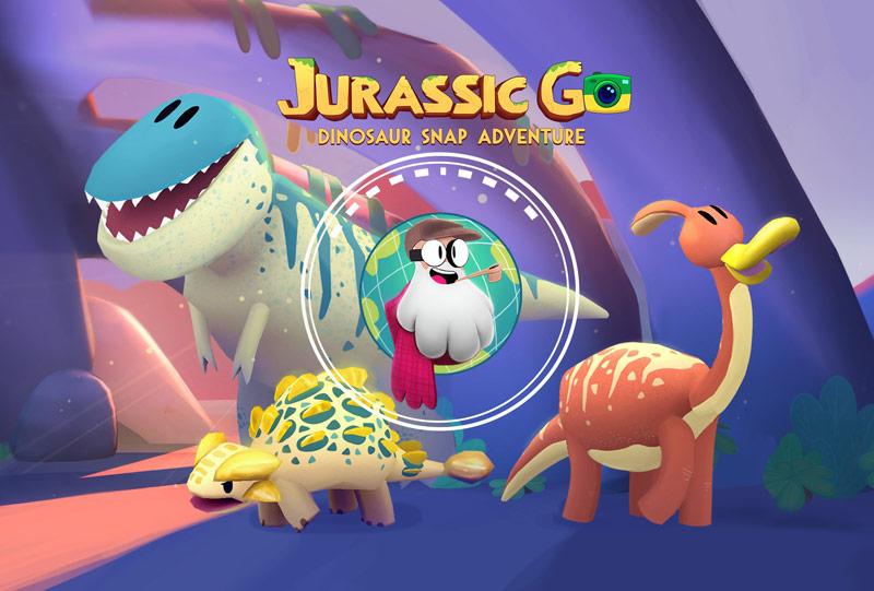 GO Jurassic: Dinosaur Snap Adventures – photographer of the Jurassic period