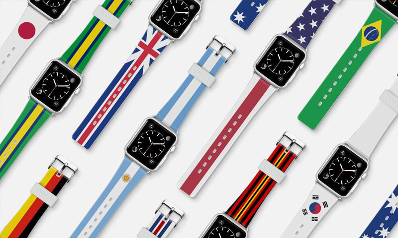 Apple changed its mind and released the Olympic band for the Apple Watch with a picture of a flag of Russia