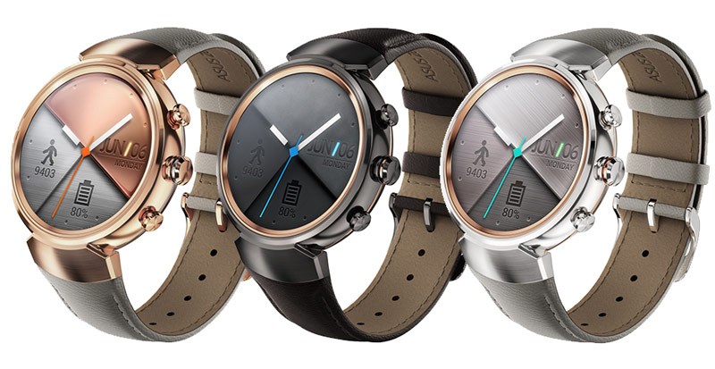 ASUS has announced a smart watch ZenWatch 3 with a round screen [video]