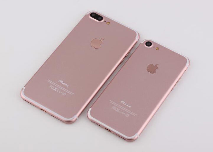 In the Network appeared high-quality photos of iPhone 7 and iPhone 7 Plus in the color rose gold