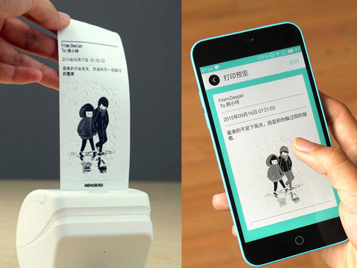 Memobird: a tiny printer to print from iPhone and Android [video]