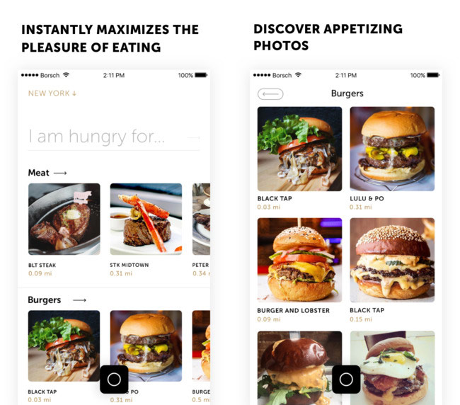 """Russia has launched a """"smart"""" analog Instagram to search for beautiful food [video]"""