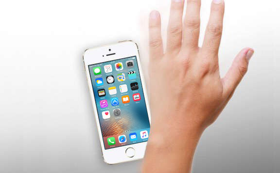 A new tweak allows you to enable and disable the iPhone screen with my hand