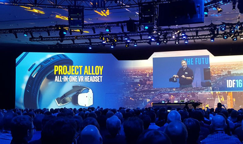 Intel introduced processors new generation Kaby Lake and the virtual reality helmet Project Alloy that does not require a PC