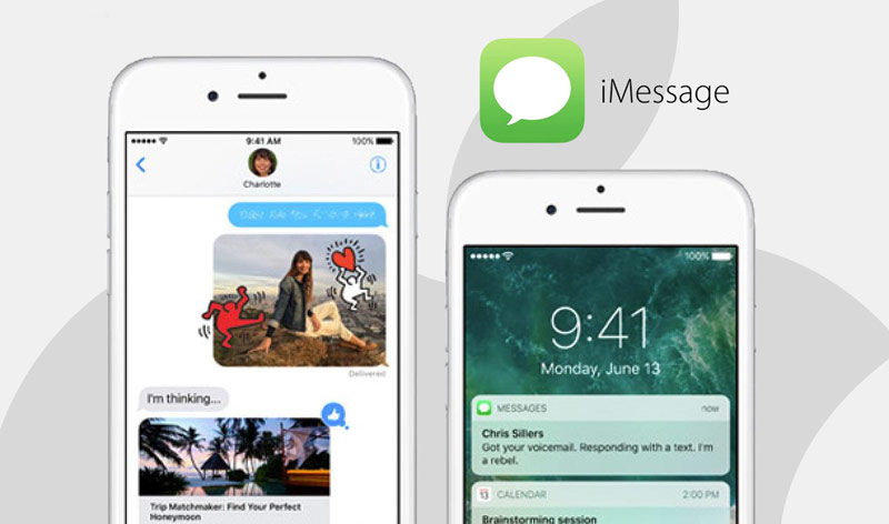 10 iOS: iMessage automatically detects the correspondence films, actors, musicians and shows them brief information