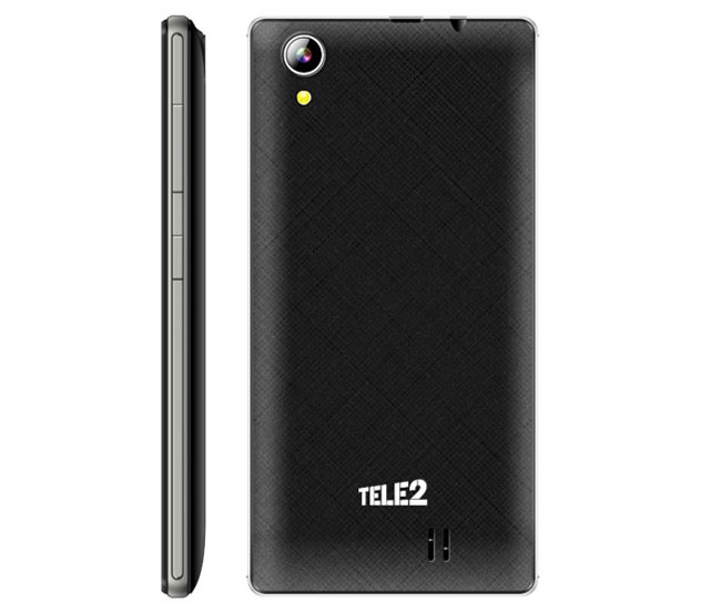 Tele2 has presented its Android smartphone 6.0 2890 rubles