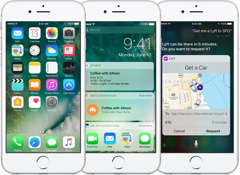 iOS 10 will be available for download September 30,