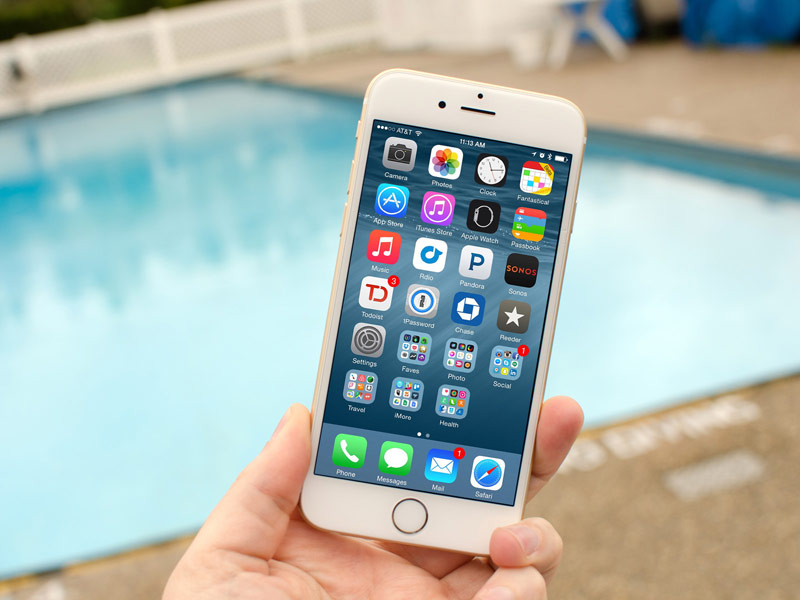 The rejection of the mechanical Home button will allow the iPhone 7 without consequences can withstand immersion in up to 1 meter