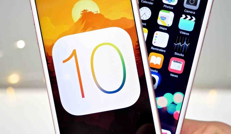 iOS 10 is significantly improved not only autonomy, but also the performance of the new Apple devices