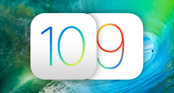 A comparison of the performance 10 the iOS 8 beta and iOS 9.3.5 on iPhone and iPad