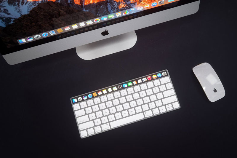 How to work the touch OLED panel in the new MacBook Pro?
