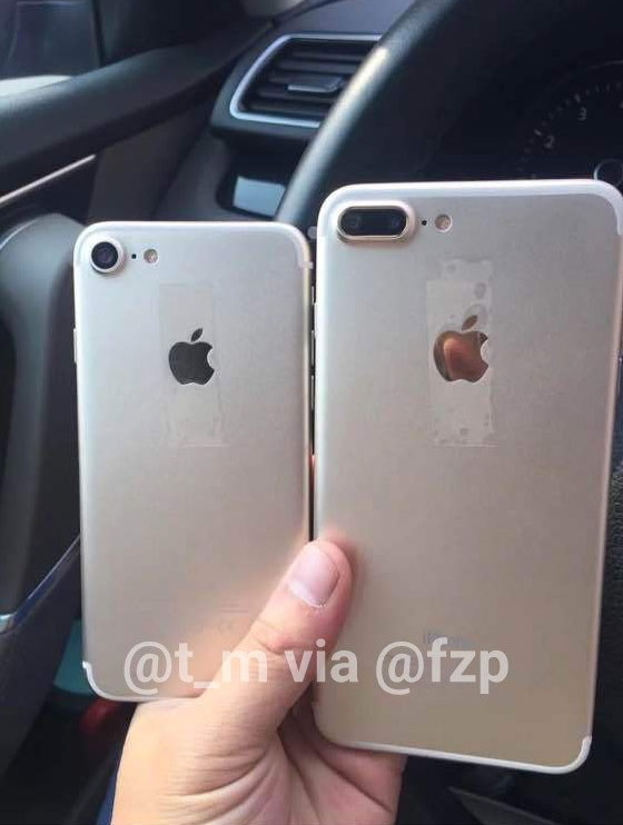 New photos of iPhone 7 and iPhone 7 Plus demonstrate new design and dual camera