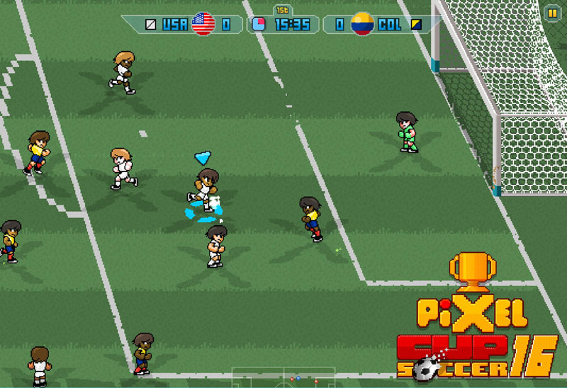 Apple hands out free football game Pixel Cup Soccer 16 for iOS and Apple TV