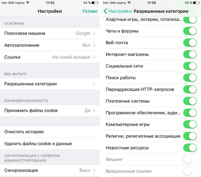 """In protected browser """"virus"""" for iOS detected dangerous vulnerability"""