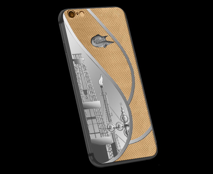 """Proud of the wealth of Russia: Caviar presented luxury iPhone 6s for Russian oil"