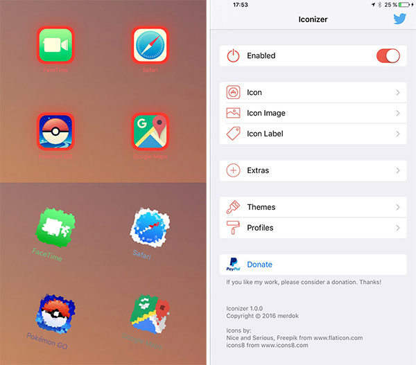30 new jailbreak tweaks for iOS 9.3.3, which should install