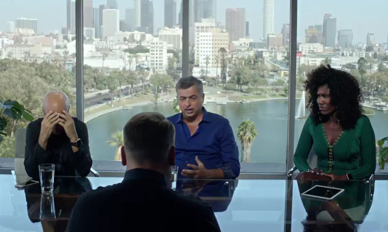 In the new Apple Music with James Korden starred top managers of Apple [video]