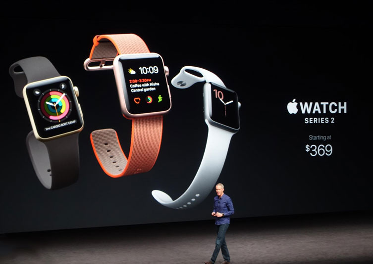 Company in the United States began to give free Apple employees Watch