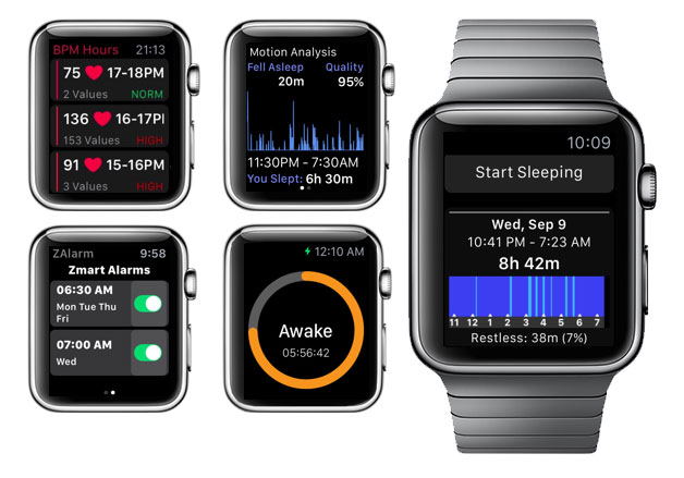 Apple is working on a new app to track the quality of sleep Apple Watch users