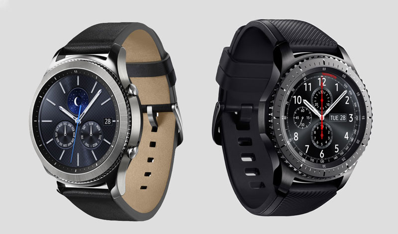Smart watch Gear S3 videos: first review the main competitor of the Apple Watch 2 Samsung