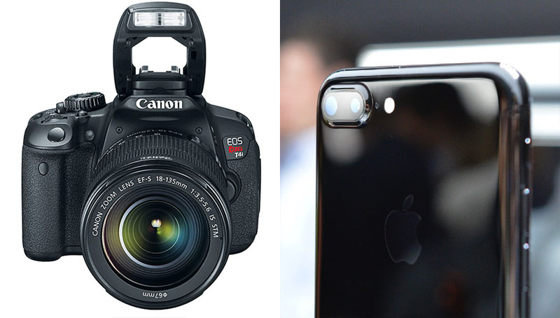 "iPhone 7 Plus vs ""SLR"" Canon: taking photos with a bokeh effect"