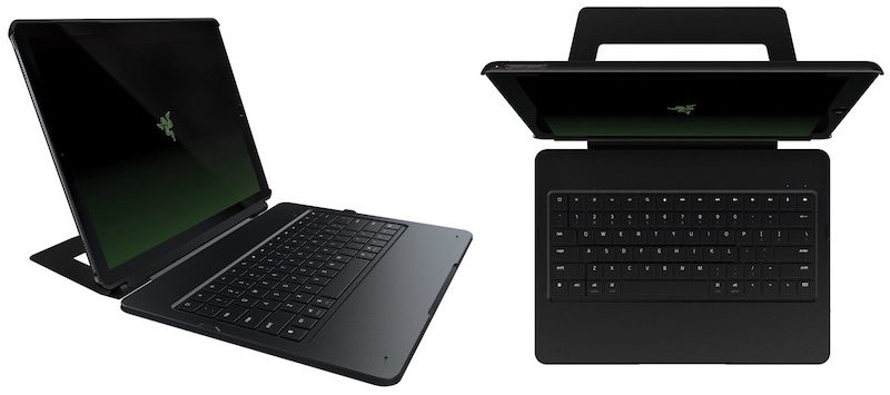 Pro iPad turned into laptop