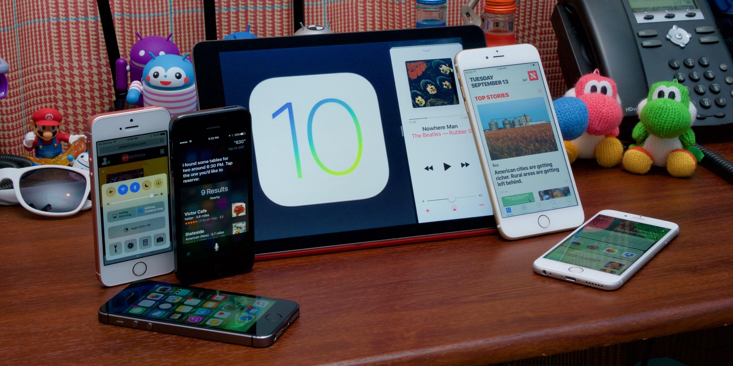 How popular iOS 10?