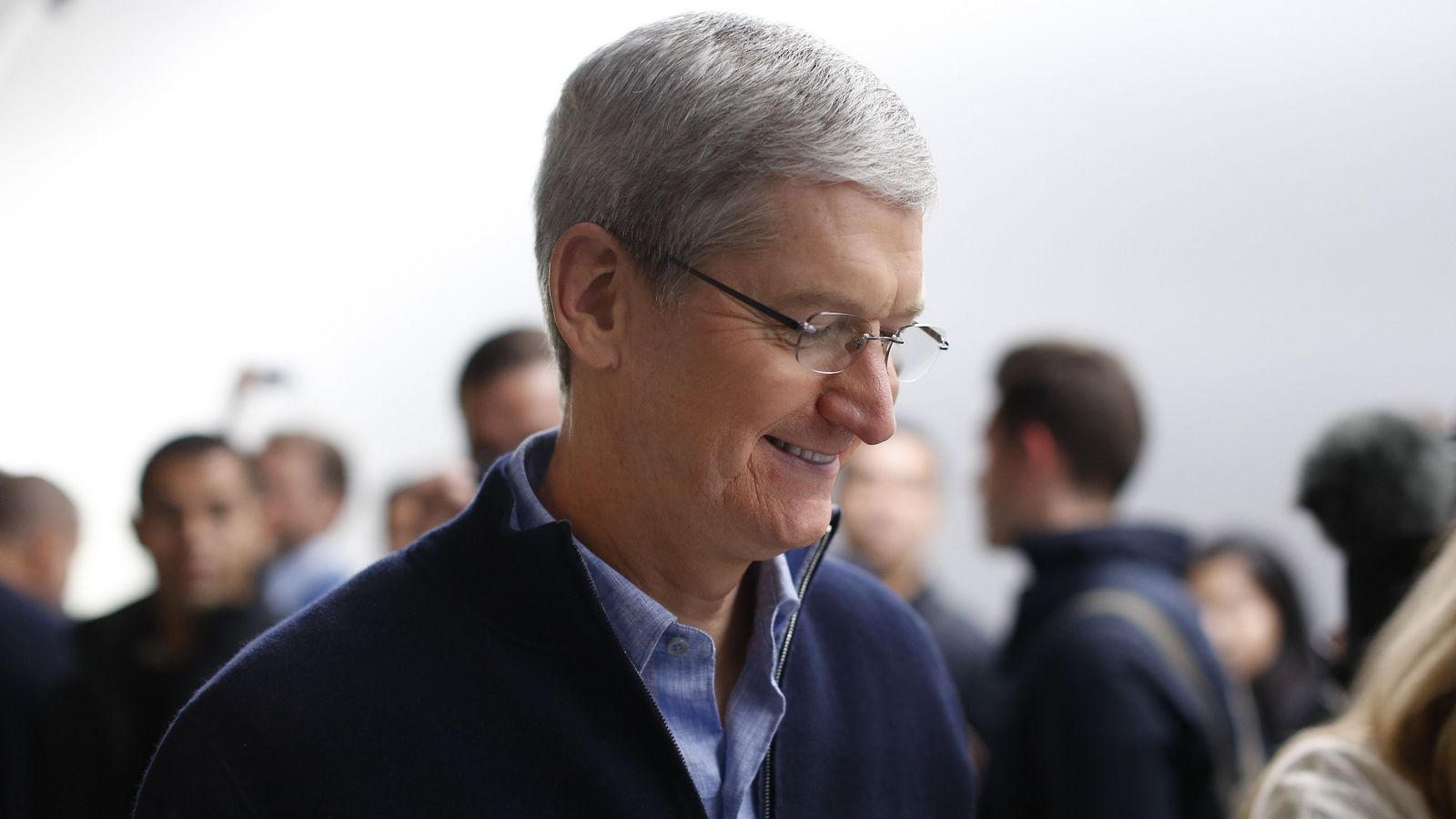 Tim cook: five years at the helm in numbers