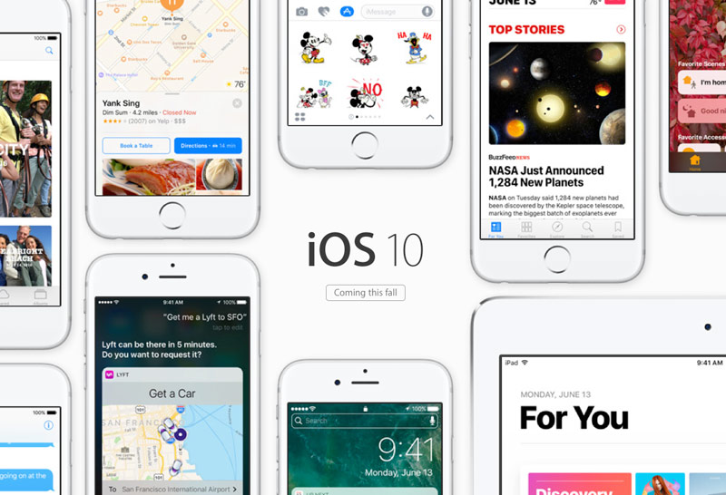 Media: iOS 10 will be available for download September 14