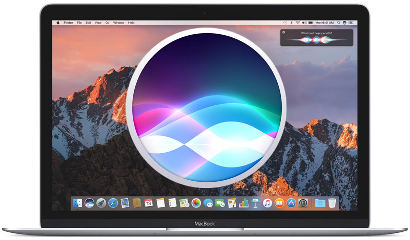 How to run macOS in Sierra Siri with voice