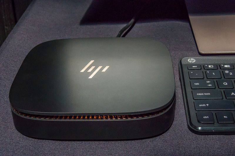 HP has introduced a competitor to the Mac mini with a modular design and Intel Core i7 processors