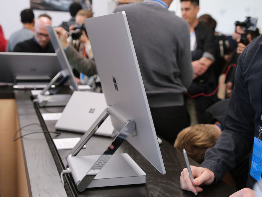 """""""Killer"""" iMac? First look at the form factor bar with touch screen Microsoft Surface Studio for $3000"""