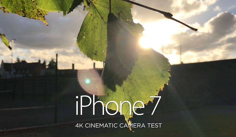 An impressive example of video in 4K resolution, shot on the camera of iPhone 7 Plus