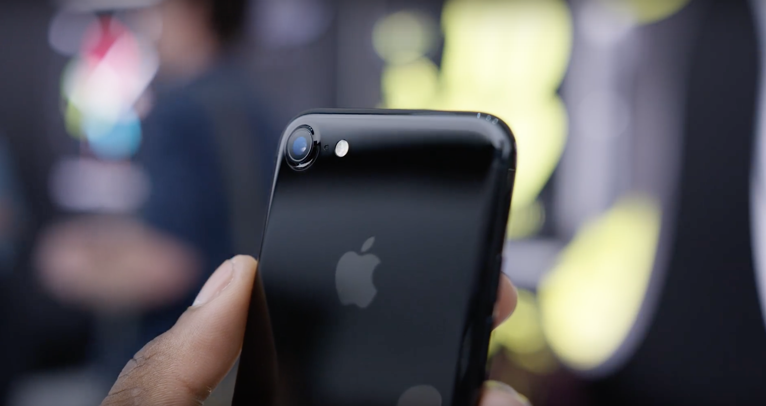 What is interesting is hiding the iPhone 7