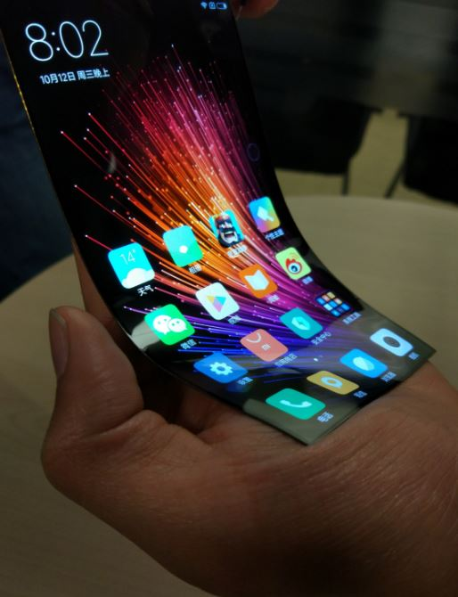 """""""Chinese Apple"""" has shown a smartphone with a flexible screen [photo]"""